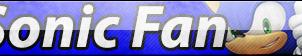 Sonic Fan Button by HeroRivalShadow2