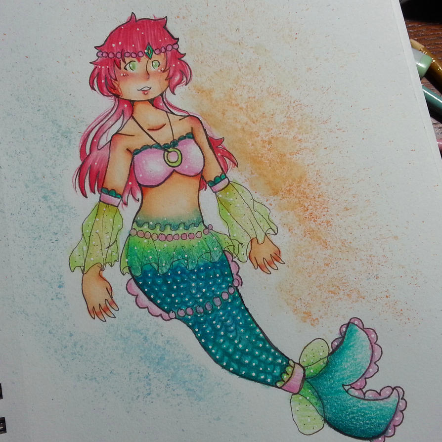 mermaid festa by Meandragonx
