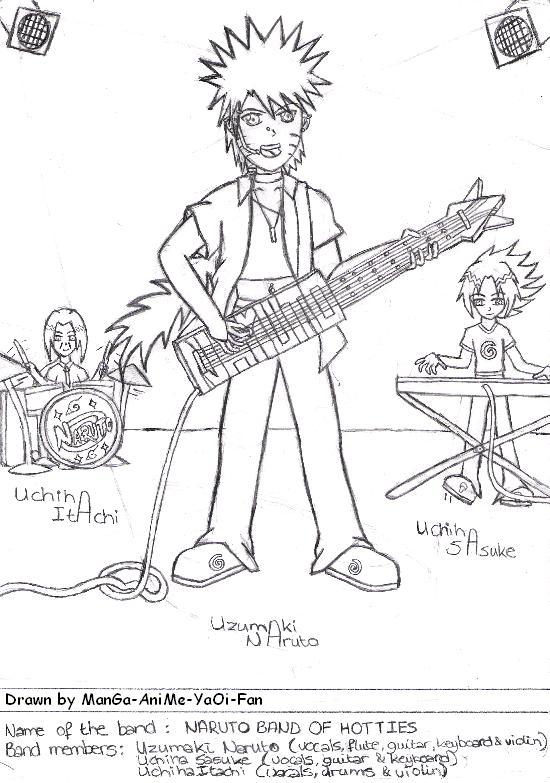 Naruto Band of Hotties by ManGa-AniMe-YaOi-Fan