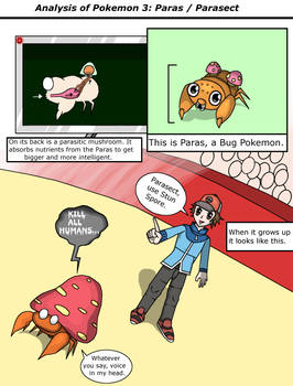 Analysis of Pokemon 3