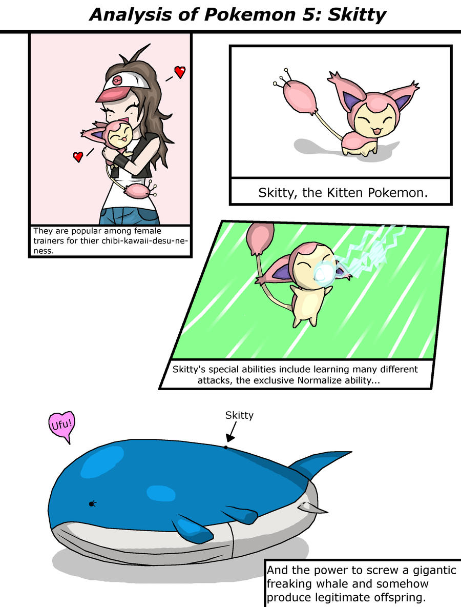 Analysis of Pokemon 5 by Cataclyptic on DeviantArt Wailord And Diglett