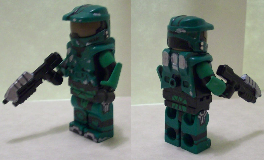 Lego halo 3 master chief v2 by thespexguy on deviantart - Lego spartan halo ...