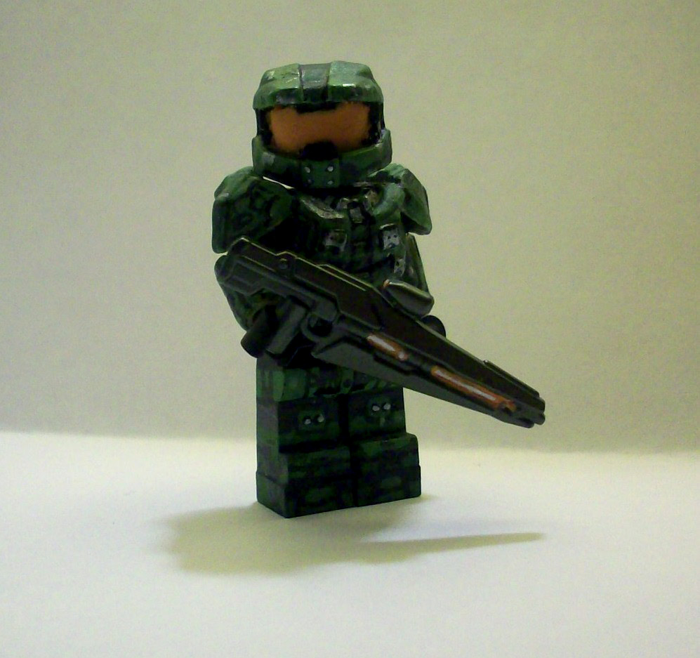 Lego Halo Toys : Lego halo master chief update by thespexguy on deviantart