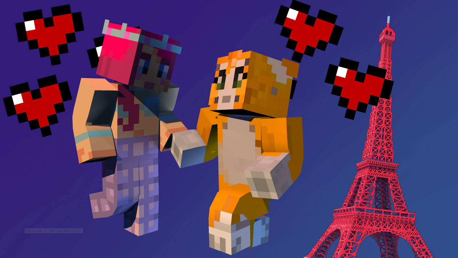 Amy lee 33 and stampy by supersonic3315 on DeviantArt