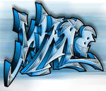 Unique and Fabulous Graffiti Design by JackiCastellano