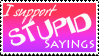 Stupid Stamp by Trounced