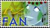 Princess Zelee Fan Stamp by Trounced