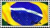 brasil stamp by rindork