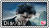 Diaval (Maleficent) Stamp- Unanimated by catsfortune