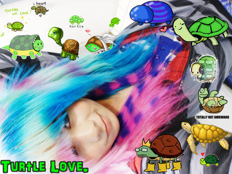 Me and my COLORFUL Coontails :3