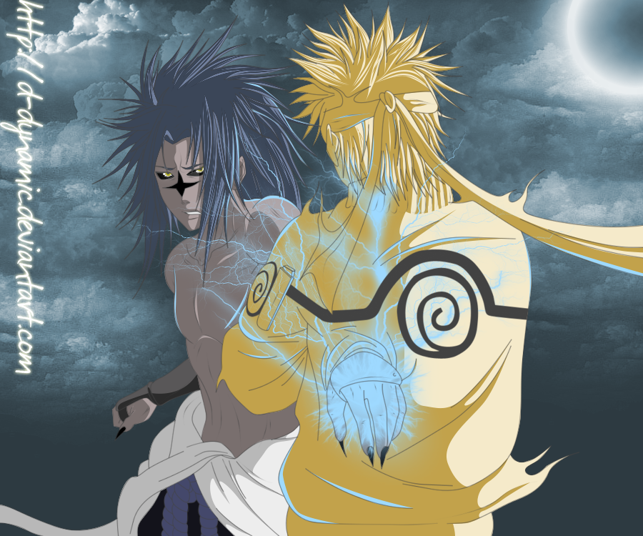 Sasuke Chidori Vs Naruto Col0 By D-Dynamic On DeviantArt