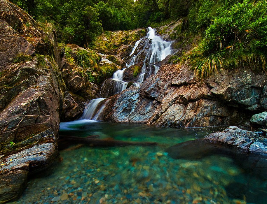 Fantail Falls by mark-flammable