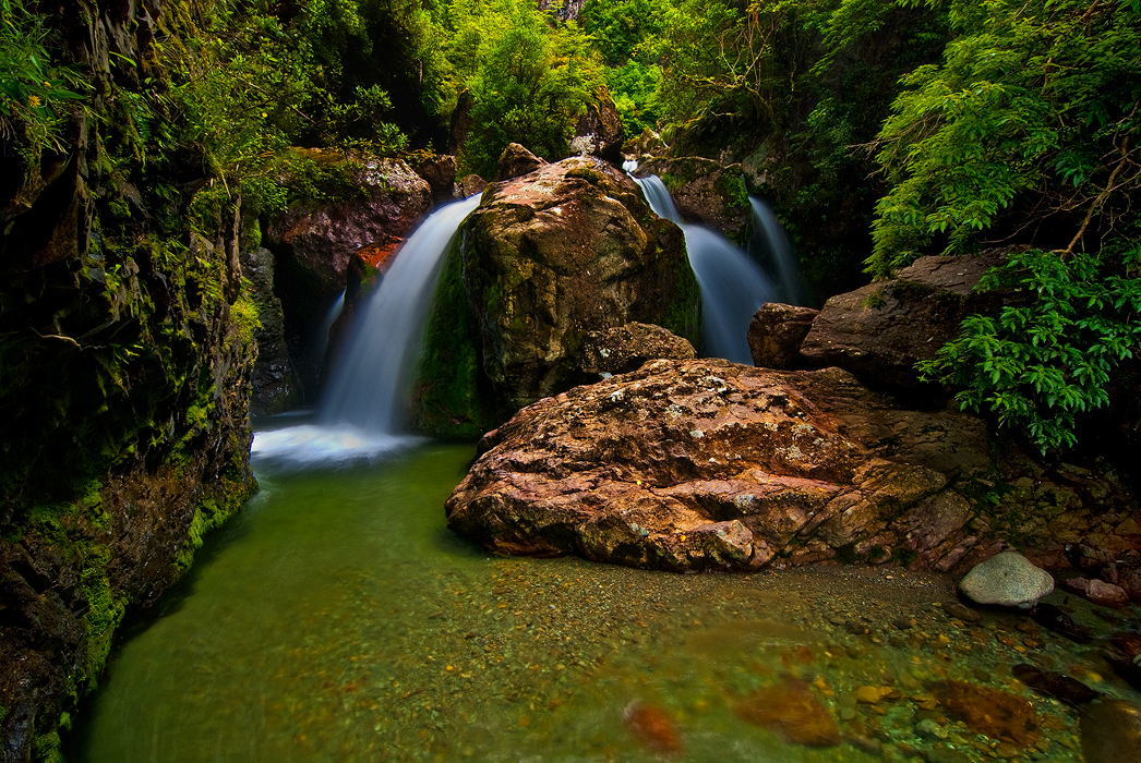 Sharplin Falls by mark-flammable