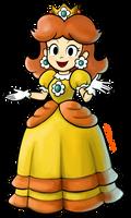 Princess Daisy - Mario and Luigi RPG