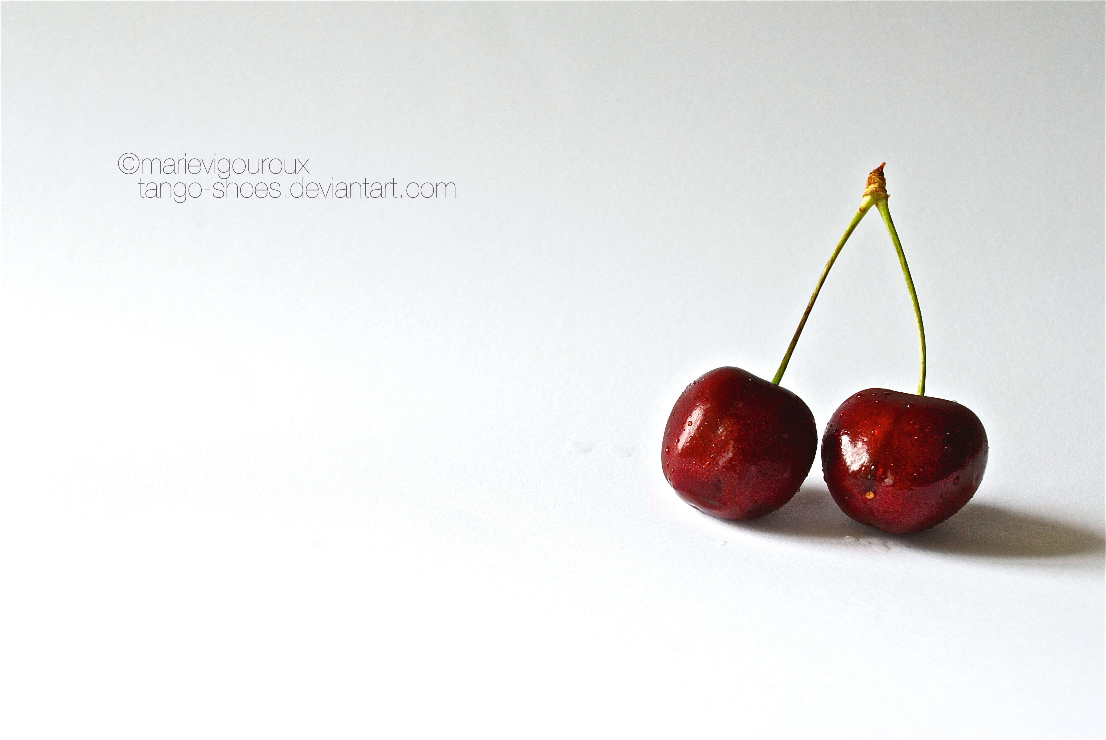 cherries wallpaper food and drink pictures