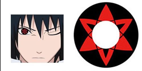 Uchiha Sasuke Cosplay Sharingan Contact Lenses By Acosplayer