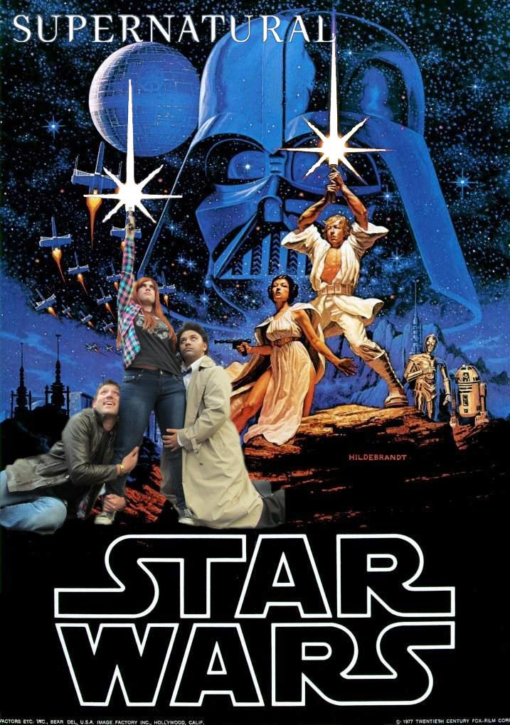 Supernatural Star Wars by Dusha-Soul