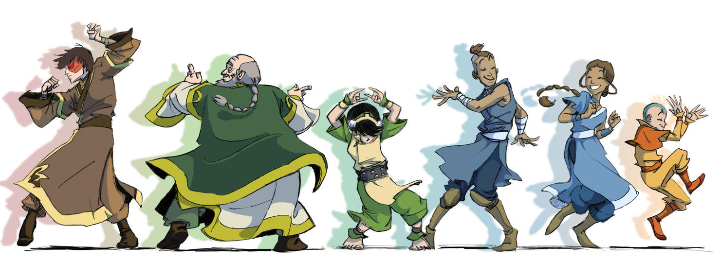 Re Late To The Party Avatar Last Airbender