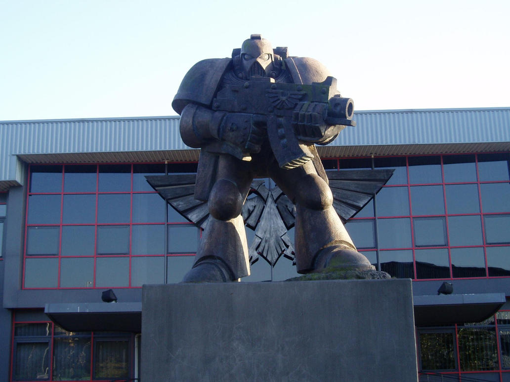 Warhammer Headquarters by Freggelz