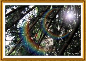 Rainbow Ramification Art 3713-1AA by SirIvyPink