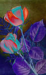 Love S Garden Of Roses By Yesterdays Paper-dc324ws
