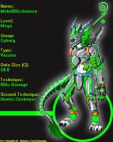 Digimon: MetalBlitzdramon by LightningRyu