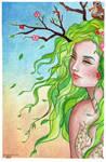 Tree Spirit by IsabelaRazo