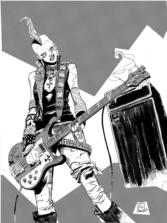 Punk Bass Storm by petevaldez