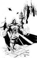 Dr. Doom by Stephen-Green