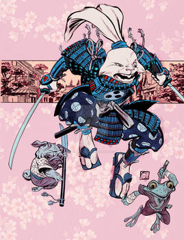Usagi Yojimbo colors