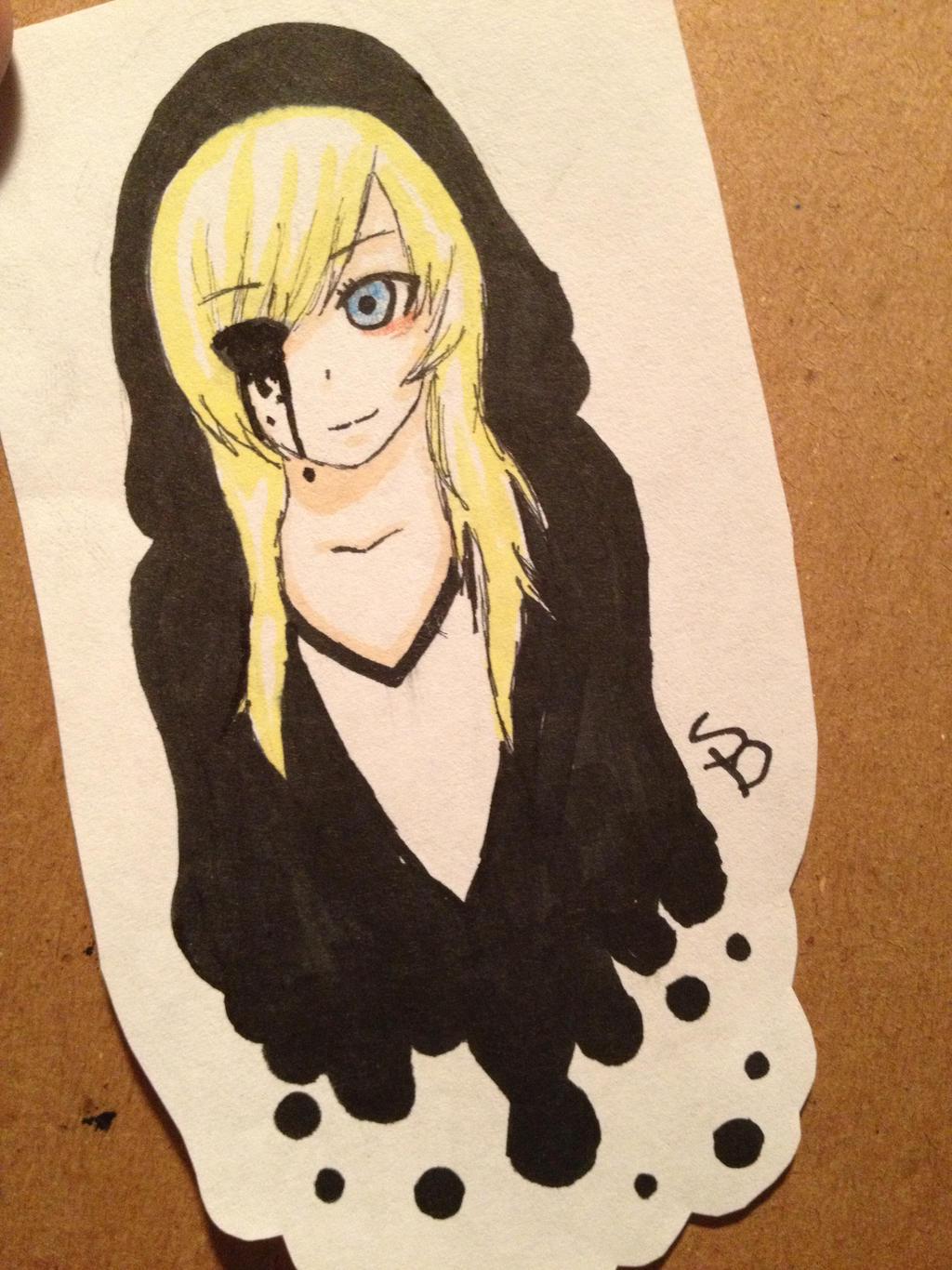 how to draw creepy art