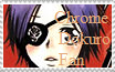 Chrome Dokuro Fan Stamp by noones