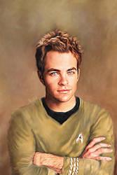 Captain Kirk by karracaz