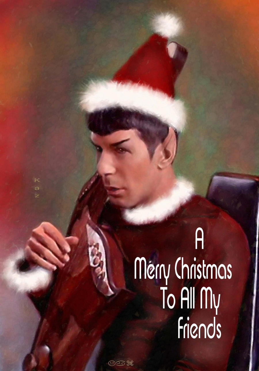 Santa Spock
