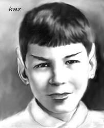 Charcoal Spock 3 by karracaz