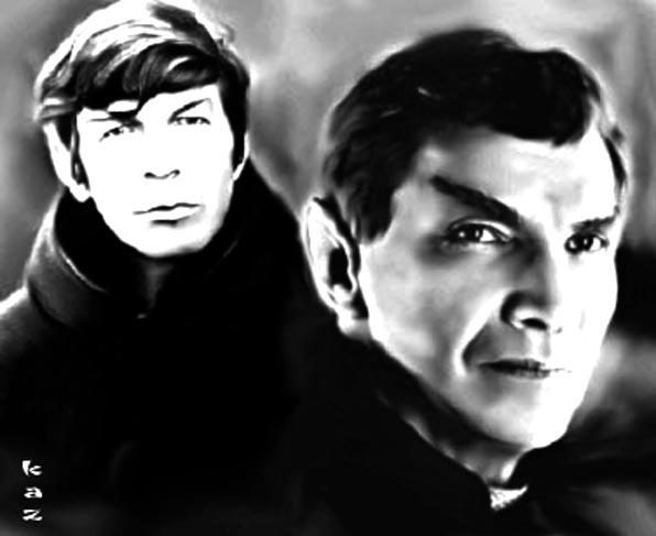 Sarek and  Spock by karracaz