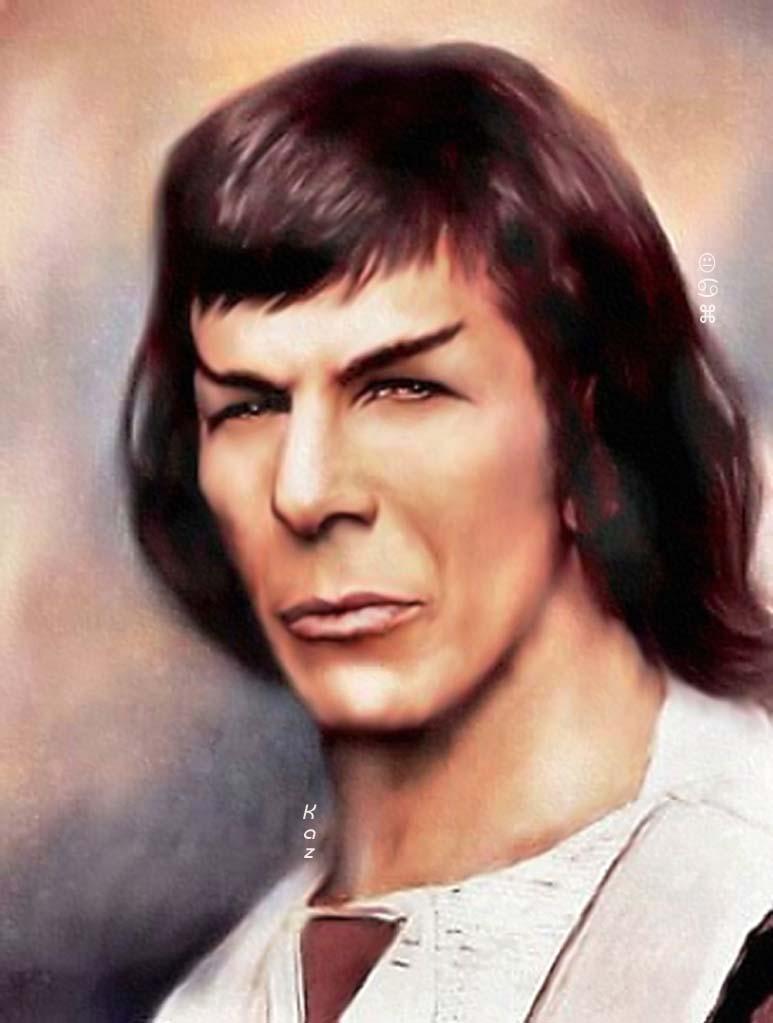 Kolinahr Spock by karracaz