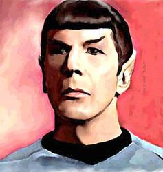 Spock distant by karracaz