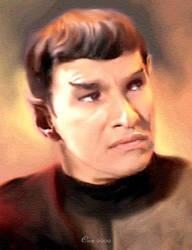 Sarek/Romulan commander by karracaz