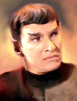 Sarek/Romulan commander