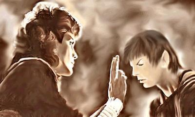 Spock and Saavik 2 by karracaz