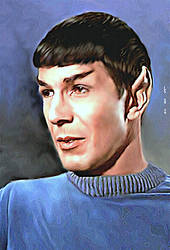 Spock - The Cage by karracaz