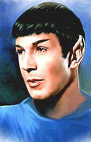 Vulnerable Spock by karracaz