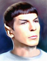 Spock Study by karracaz