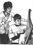 Uhura and Spock - Charlie X