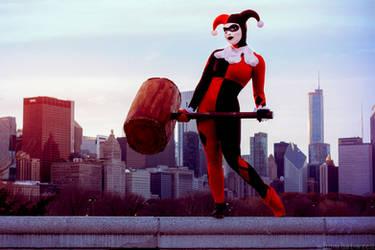 Gotham City Skyline by eatsleepbroadway