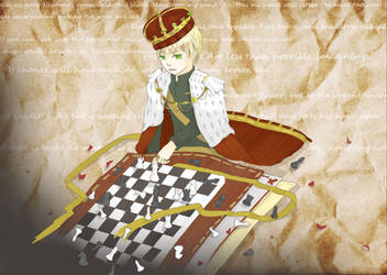 -HETALIA- A King's Game -ENGLAND- by Ruka-kun