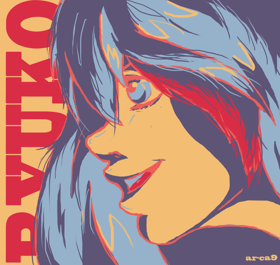 Colour Challenge : Ryuko Matoi by ar-ca9