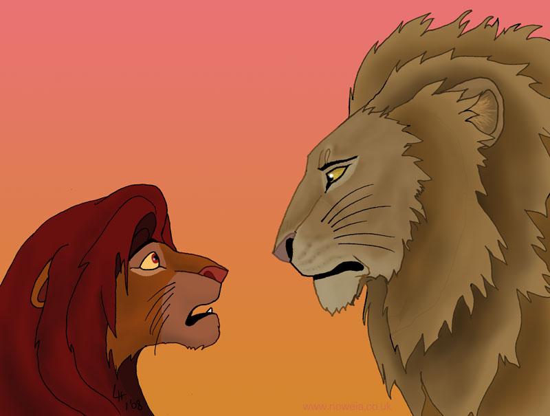 Pridelands Vs Narnia by Noweia on DeviantArt