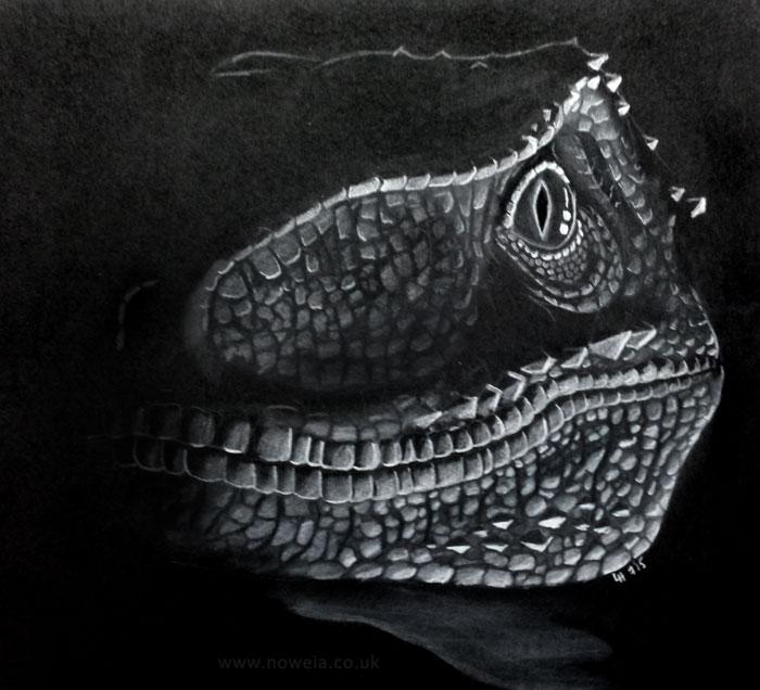 Jurassic Blue by Noweia